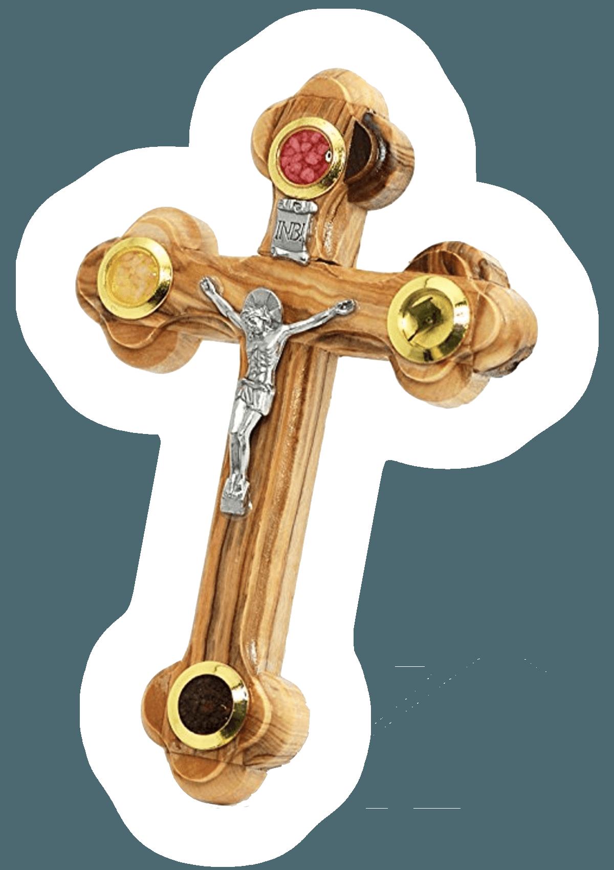 Jesus cross glowing - by Don Karl Juravin
